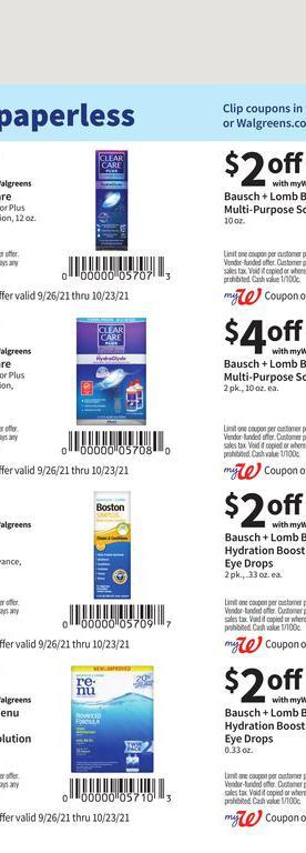 26.09.2021 Walgreens ad 28. page