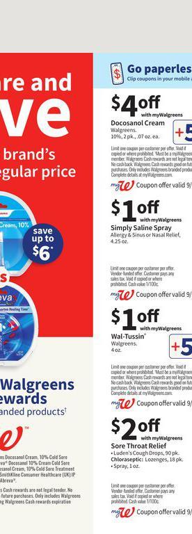 26.09.2021 Walgreens ad 40. page