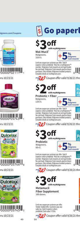 26.09.2021 Walgreens ad 49. page