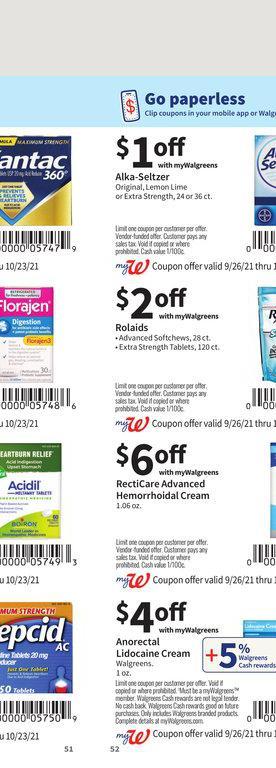 26.09.2021 Walgreens ad 51. page