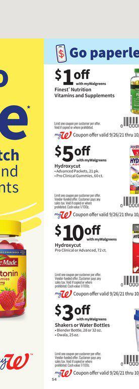 26.09.2021 Walgreens ad 53. page