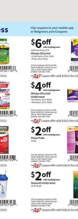 26.09.2021 Walgreens ad 54. page
