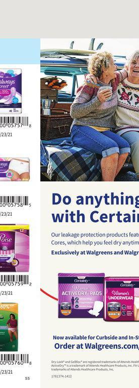 26.09.2021 Walgreens ad 55. page
