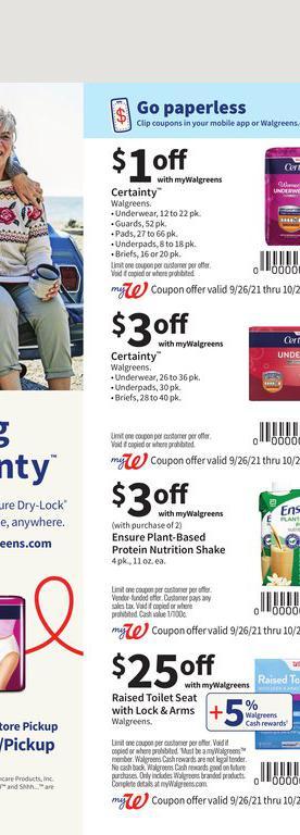 26.09.2021 Walgreens ad 56. page