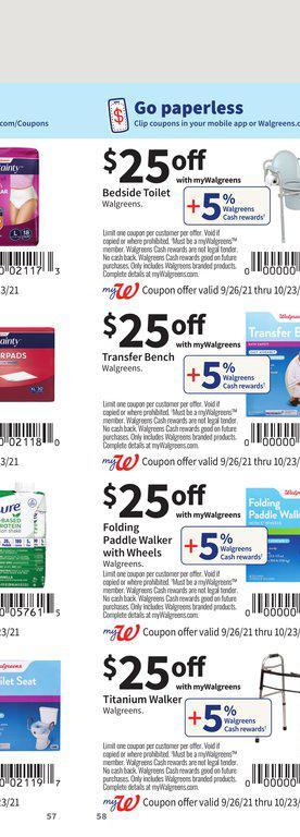 26.09.2021 Walgreens ad 57. page