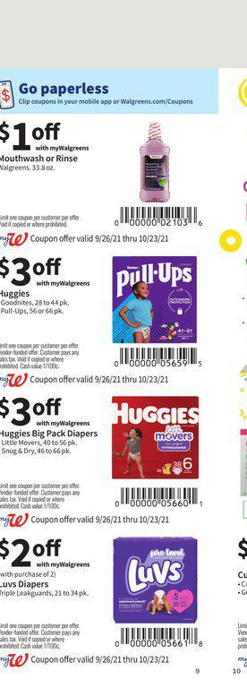 26.09.2021 Walgreens ad 9. page