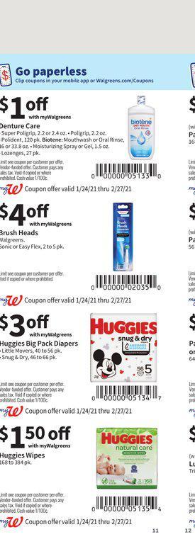 24.01.2021 Walgreens ad 11. page