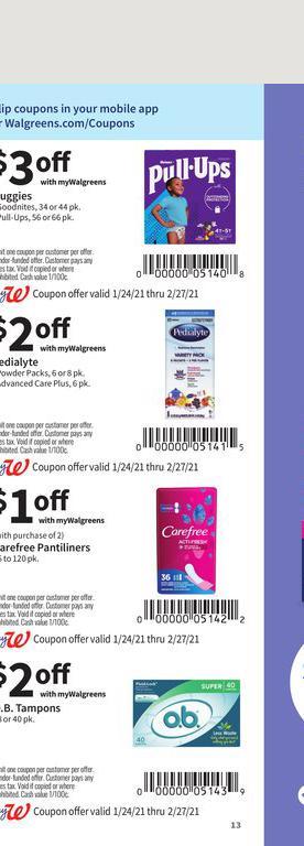 24.01.2021 Walgreens ad 13. page