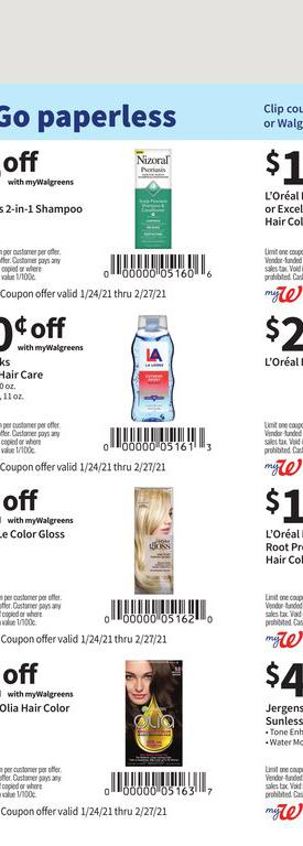 24.01.2021 Walgreens ad 22. page