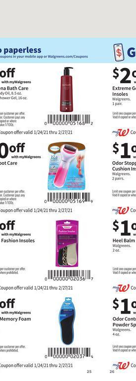 24.01.2021 Walgreens ad 25. page