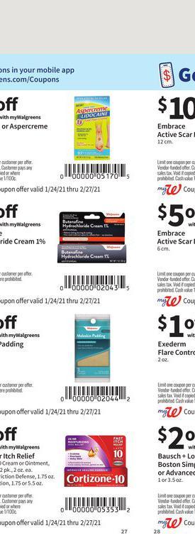 24.01.2021 Walgreens ad 27. page