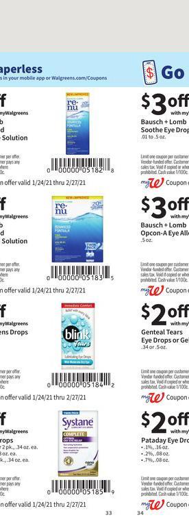 24.01.2021 Walgreens ad 33. page