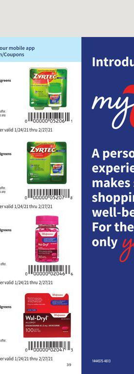 24.01.2021 Walgreens ad 39. page
