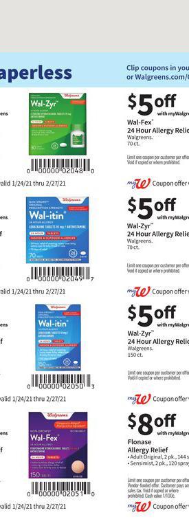 24.01.2021 Walgreens ad 42. page