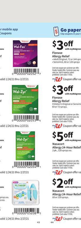 24.01.2021 Walgreens ad 43. page