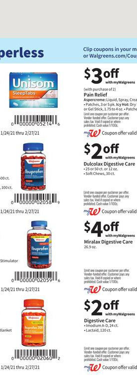 24.01.2021 Walgreens ad 48. page