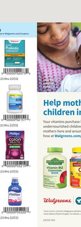 24.01.2021 Walgreens ad 54. page