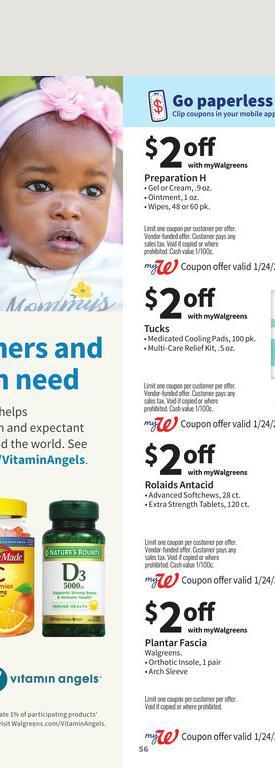 24.01.2021 Walgreens ad 55. page