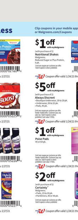 24.01.2021 Walgreens ad 64. page