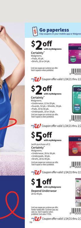 24.01.2021 Walgreens ad 69. page