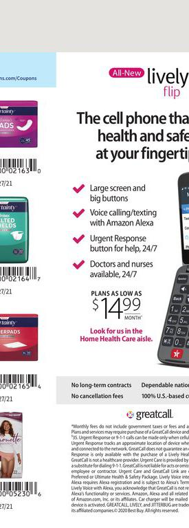 24.01.2021 Walgreens ad 70. page