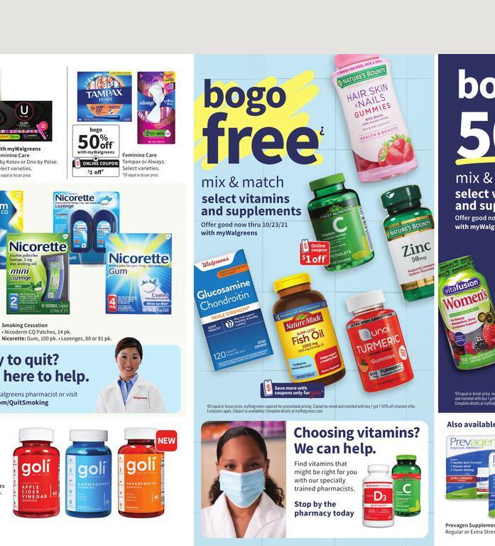 10.10.2021 Walgreens ad 18. page