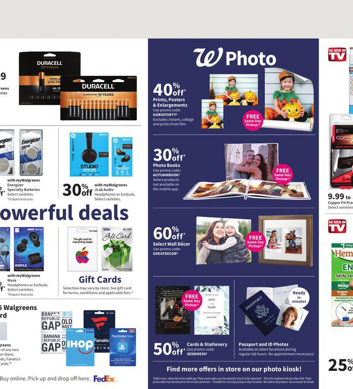 17.10.2021 Walgreens ad 13. page