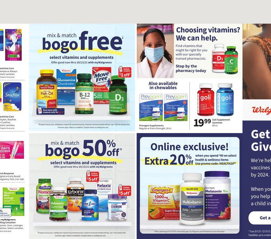 17.10.2021 Walgreens ad 19. page