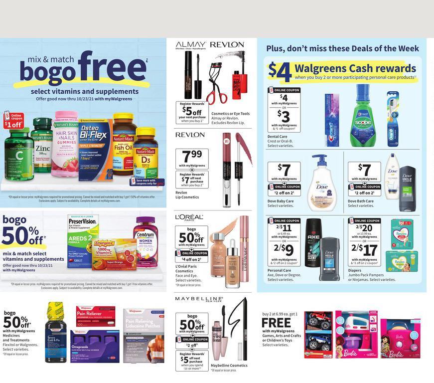 17.10.2021 Walgreens ad 2. page