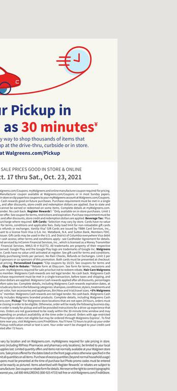 17.10.2021 Walgreens ad 25. page