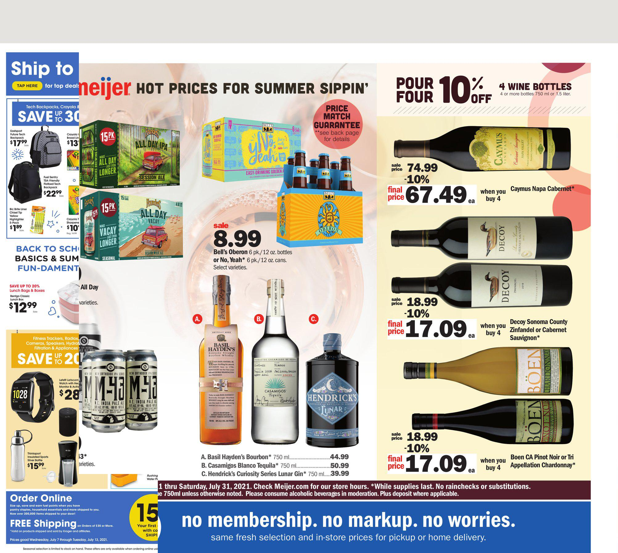 11.07.2021 Meijer ad 1. page