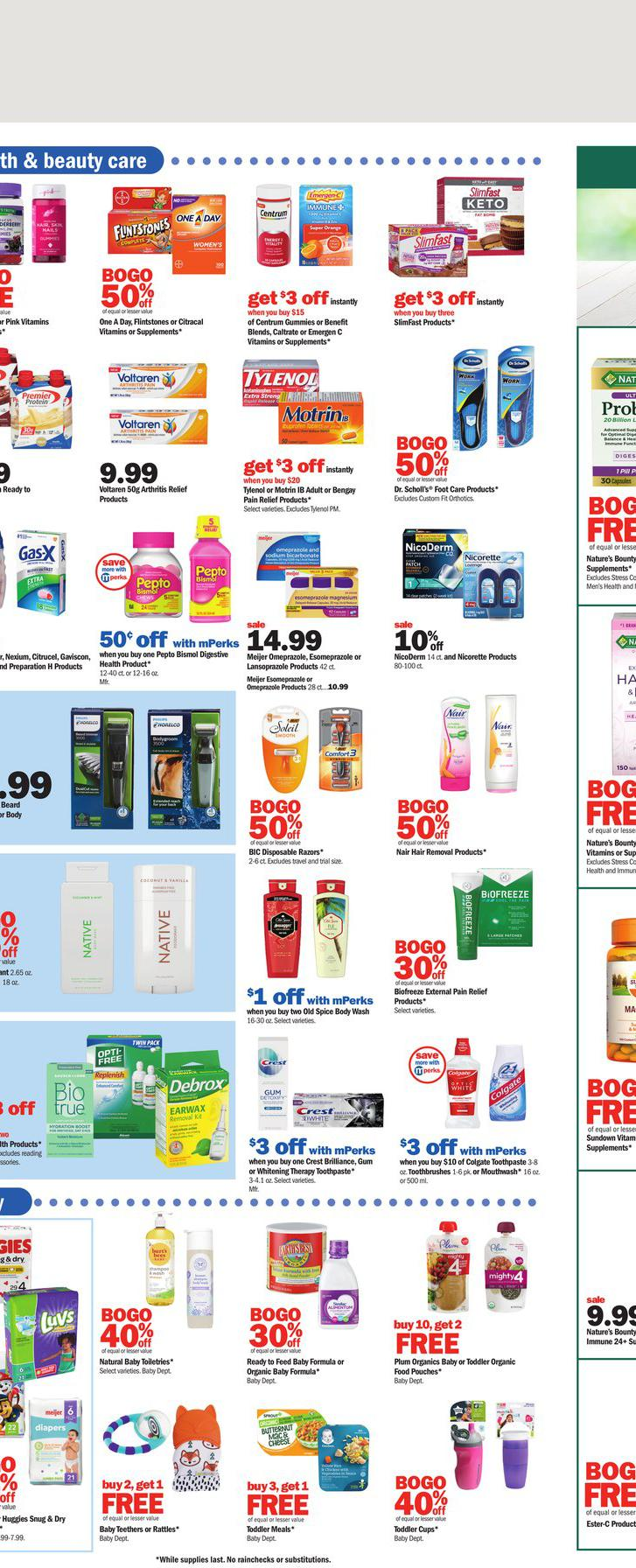 01.08.2021 Meijer ad 17. page