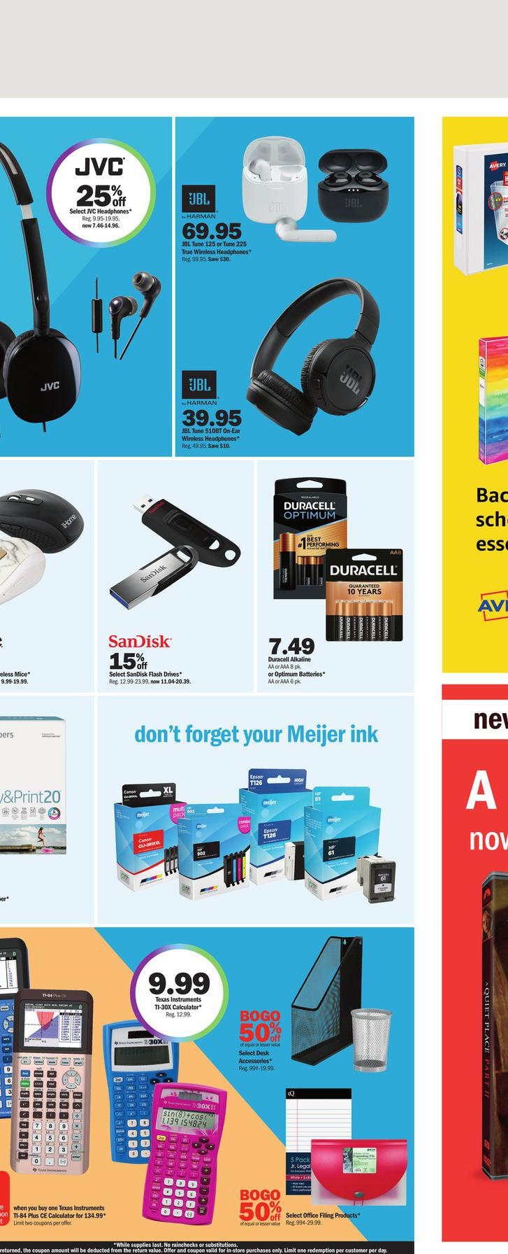 01.08.2021 Meijer ad 22. page