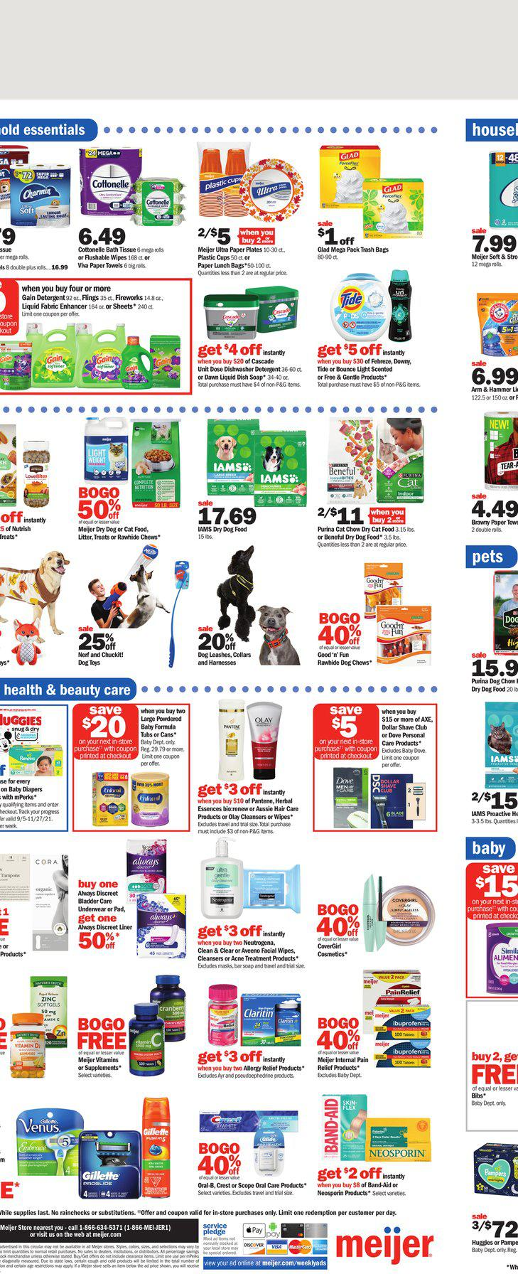 12.09.2021 Meijer ad 14. page