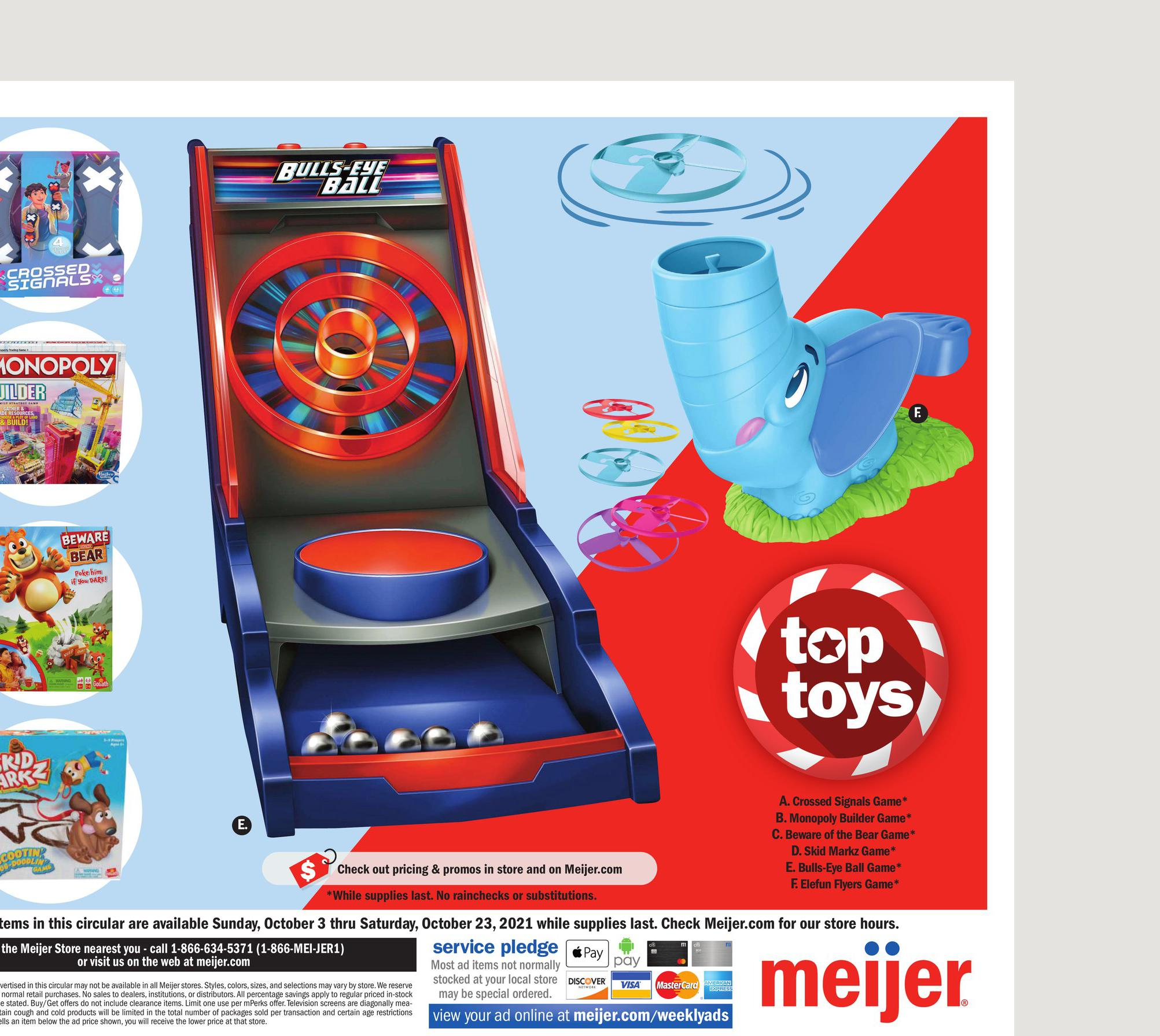 03.10.2021 Meijer ad 6. page