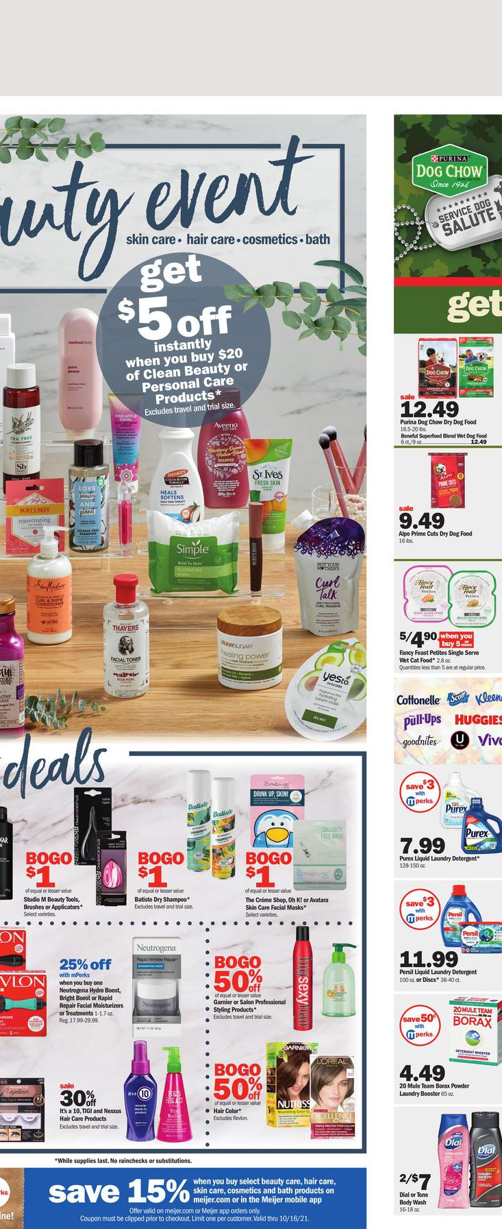 10.10.2021 Meijer ad 16. page