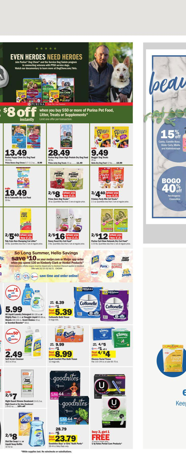 10.10.2021 Meijer ad 17. page