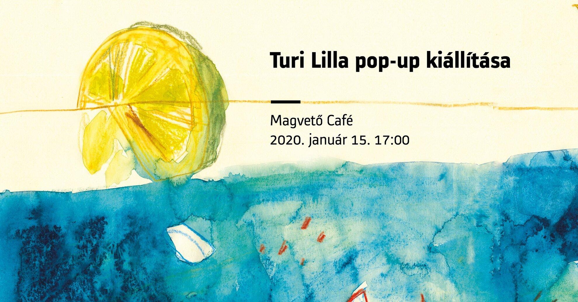 Jég. Turi Lilla pop-up kiállítása