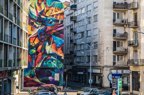 Budapest Murals – Csodaszarvas