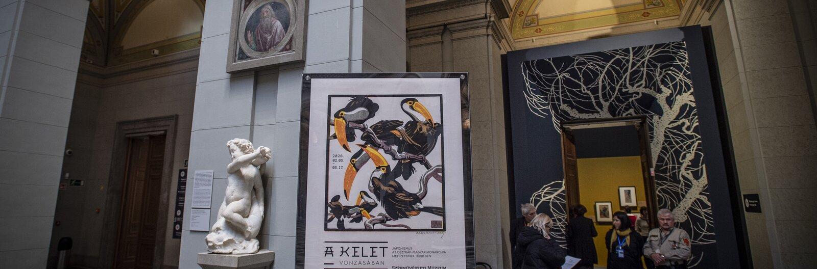 kiállítás, japonizmus, Szépművészeti Múzeum