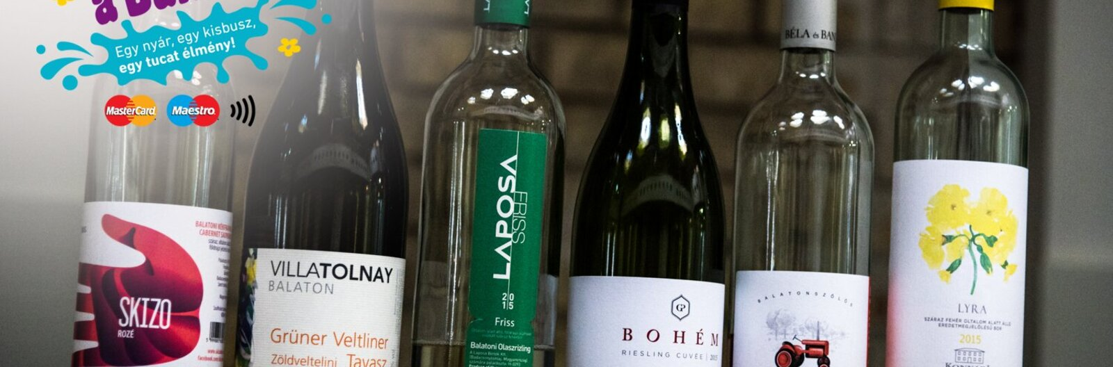 Spring is in the bottles - wine test