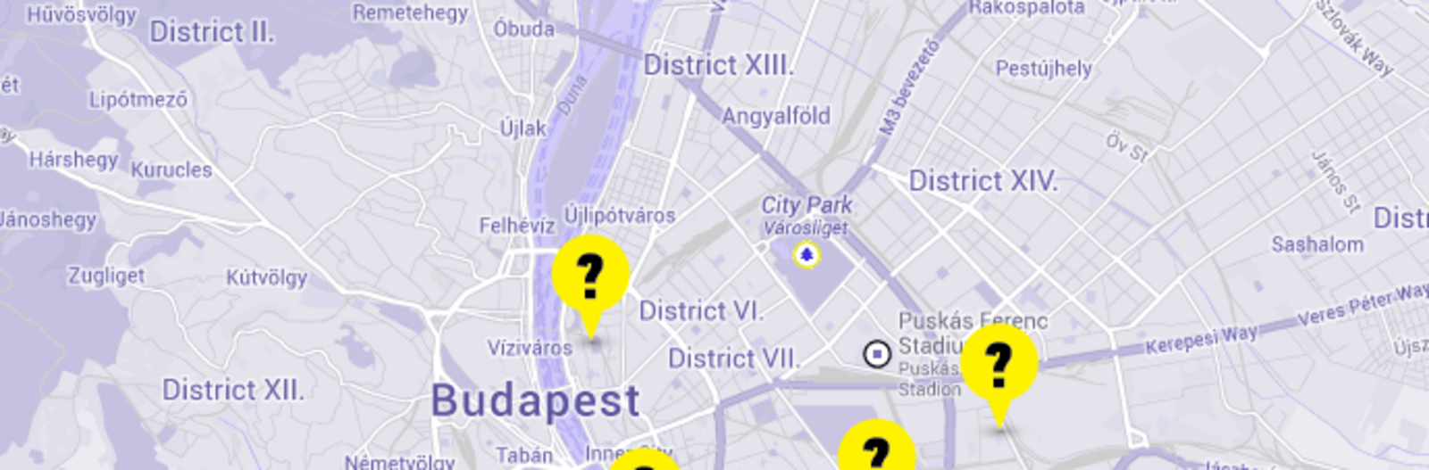 Rejtélyes budapesti Google Earth pontok