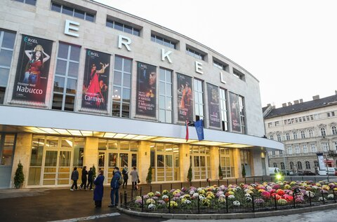 Erkel Theatre (Temporarily closed)
