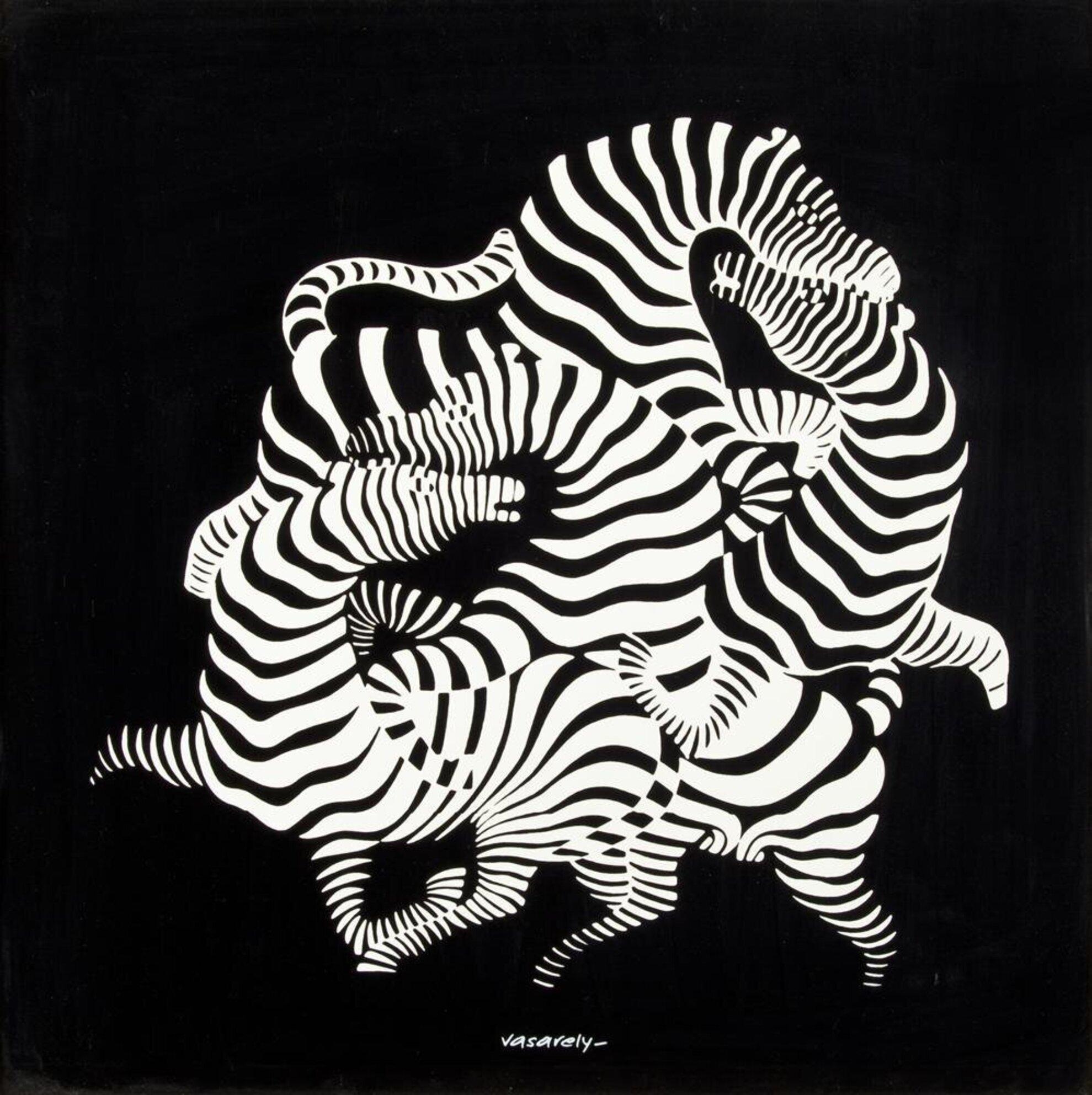 Victor Vasarely: Szerigráfiák, multiplikák
