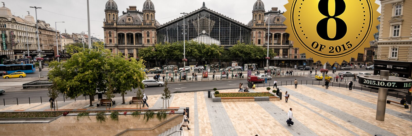8 great refurbished public spaces in Budapest of 2015