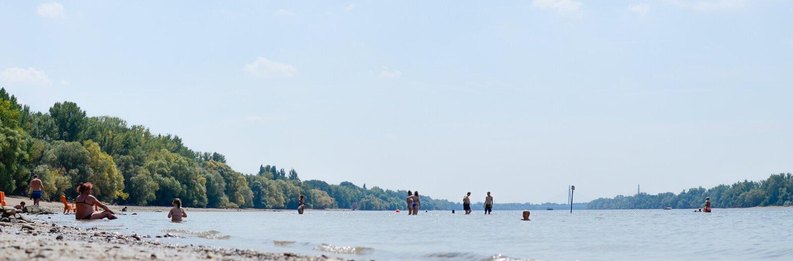 Természetes strandok a főváros közelében, ahol megmártózhatsz
