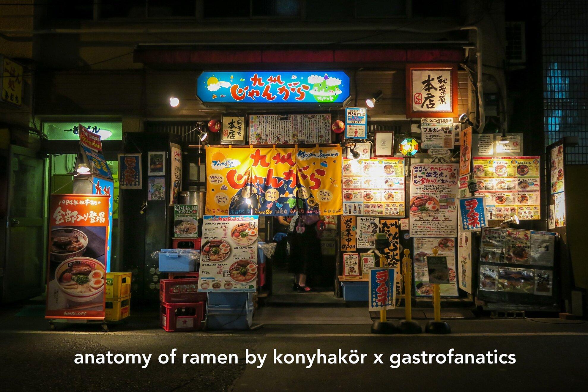 Anatomy of Ramen - Pop-up kitchen by Konyhakör x Gastrofanatics