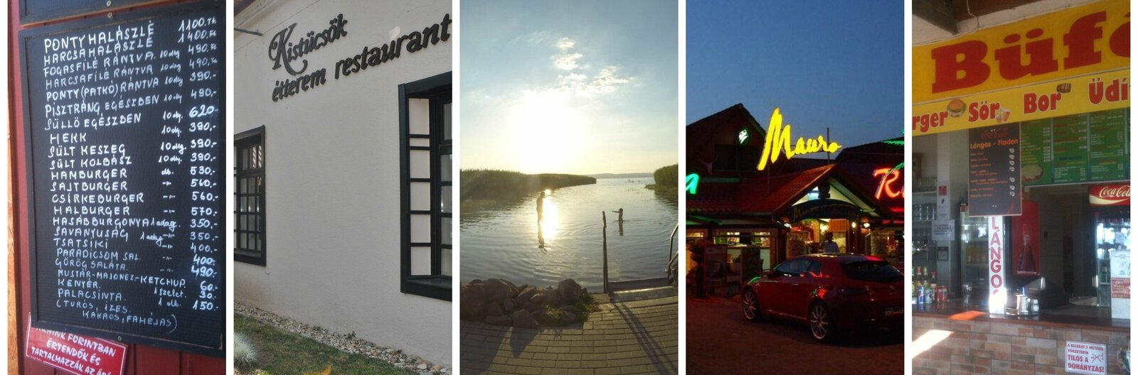 5 spots for a good meal around Balaton Sound Festival
