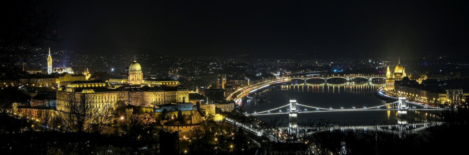 Best places to see the bright lights of Budapest