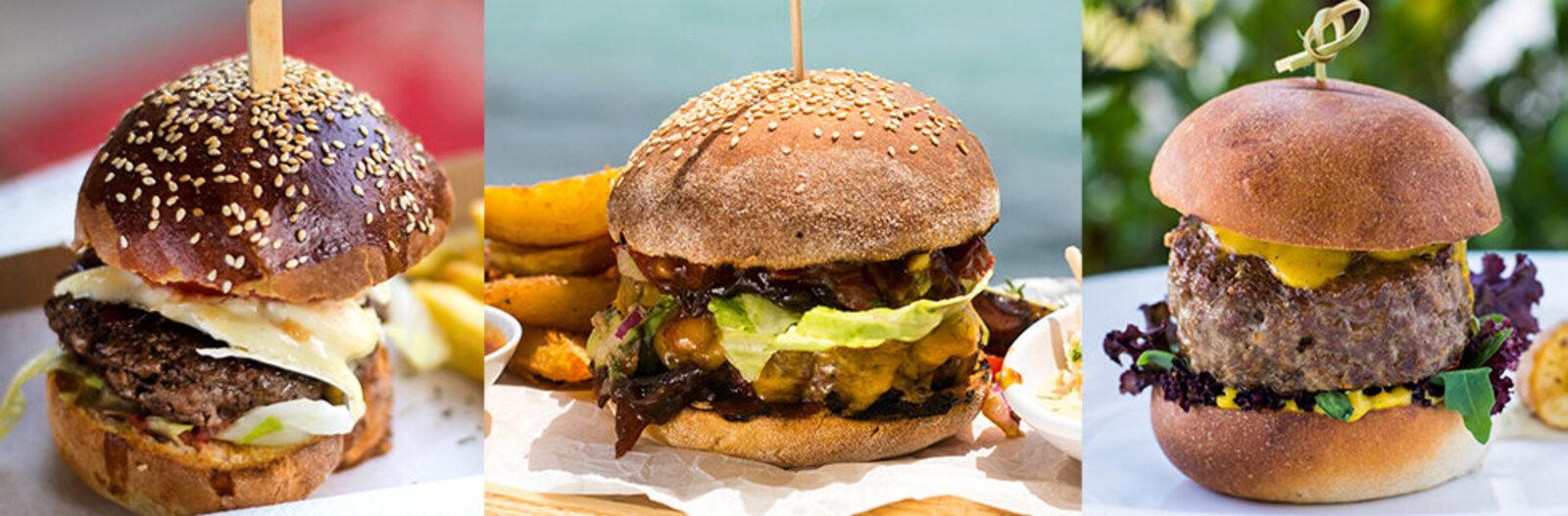 Bagelbe harapsz vagy borbirtokon falatozol? - A 11 kedvenc új burgerünk a Balatonnál
